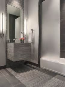 Modern Gray Tile Bathroom Modern Gray Mosaic Tile Bathroom Contemporary Bathroom San Francisco By
