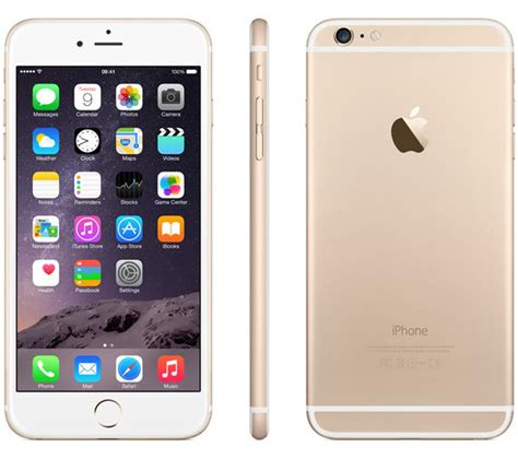 Iphone 6 Plus 16gb Gold buy apple iphone 6 plus 16 gb gold free delivery currys