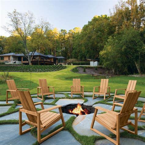 A Sleek Modern Update To The Classic Adirondack Chair Adirondack Patio Furniture Sets