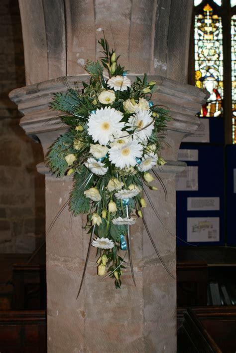 Pew, Chair and Pillar Designs   Belper Florist   Derby