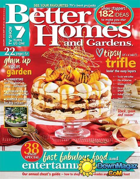 maine home and design january 2016 better homes and gardens au january 2016 187 pdf