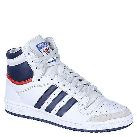 adidas top ten  mens white athletic lifestyle sneaker