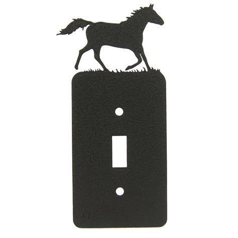 running single light switch plate cover