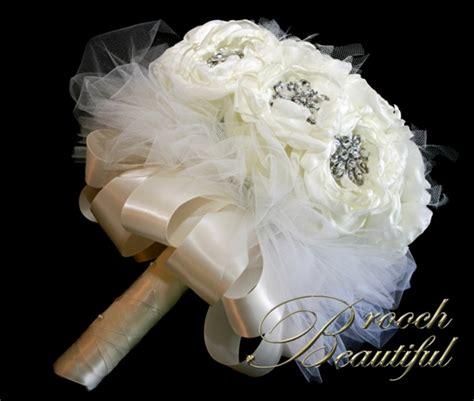 Handmade Bouquets - handmade fabric peony bouquets weddingbee photo gallery