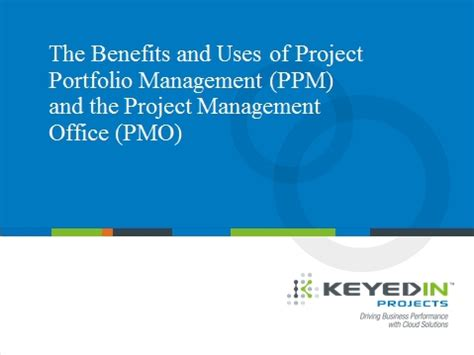 Portfolio Management Mba Project Free by 5 Major Benefits Of Adopting An Effective Project