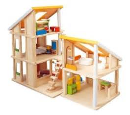 plan toys doll house plan toys chalet dollhouse with furniture modern baby