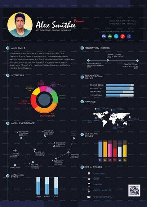 graphics design qualifications 33 infographic resume templates free sle exle