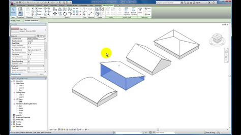 tutorial revit roof revit tutorials roofs doovi