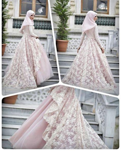 gaun pengantin muslim hijabtuts