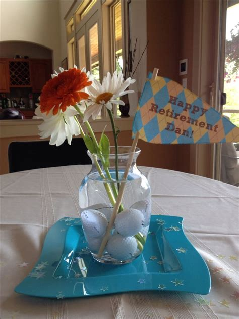 Easy Retirement Party Decor Contributing To The World Of Retirement Centerpiece Ideas