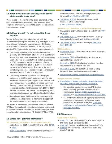 irc section 6721 faqs about the affordable care act s aca employer shared