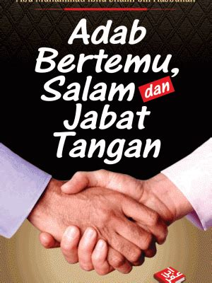 Buku Kitab Adab Bertemu Salam Dan Jabat Tangan adab bertemu salam dan jabat tangan okemuslim