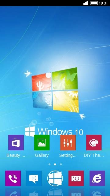 windows themes for clauncher download windows 10 theme for your android phone clauncher