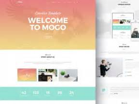 mogo free one page psd template freebiesbug