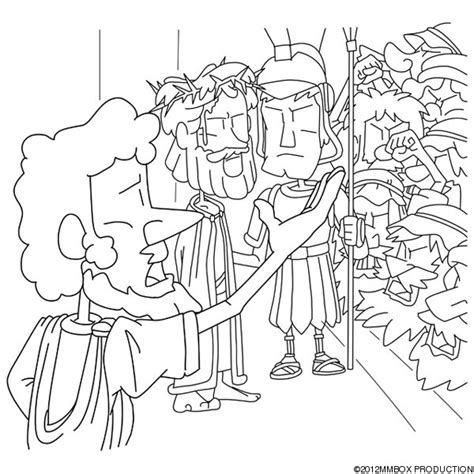 coloring pages jesus before pilate christian cliparts net jesus before pilate