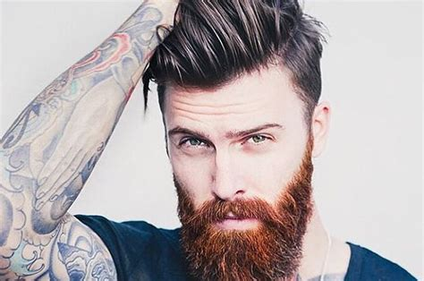 machos al rojo black hairstyle and haircuts 29 beard and undercut combinations that will awaken you