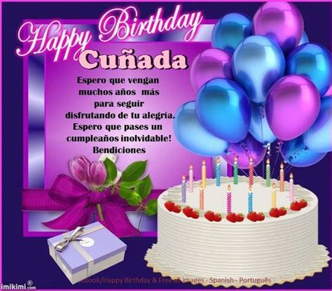 cunada iiiiifeliz cumpleanos iiiii feliz cumpleanos happy birthday frame happy birthday