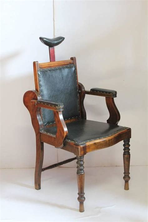 unique chairs for sale unique antique american leather and wood adjustable chair