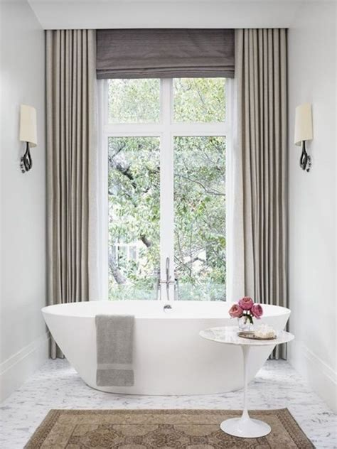 modern bathroom curtains 1000 ideas about bathroom window curtains on pinterest
