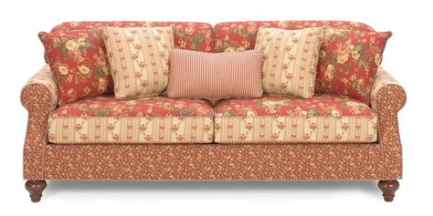 country cottage sofas carolines cottage country red loveseat home pinterest