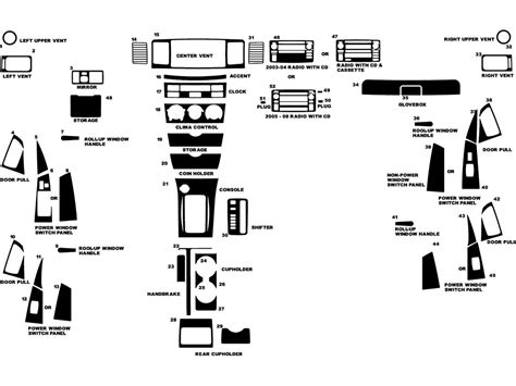 2003 toyota corolla window diagram toyota auto parts