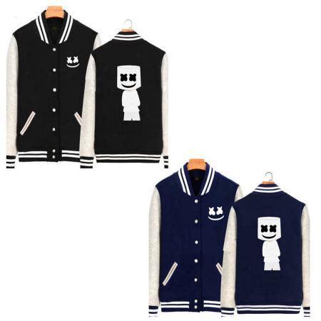 Jaket Hoodie Dj Tiesto Navy Sweater dj marshmello baseball jacket with fleece lined