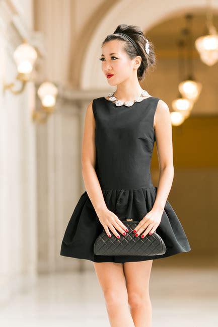 Little Black Dress :: Flare dress & Modern pearls : Wendy