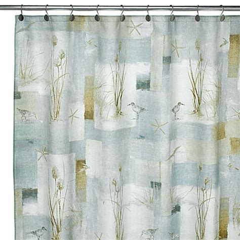 beach bathroom shower curtains buy beach shower curtains from bed bath beyond