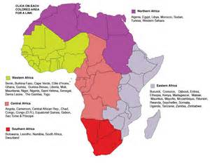 5 regions of africa map map of africa countries and regions pictures to pin on pinsdaddy