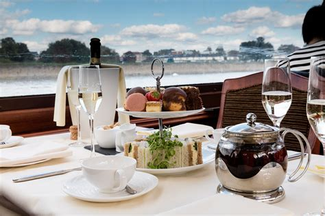 thames river cruise and afternoon tea bateaux windsor river thames afternoon tea cruise for two