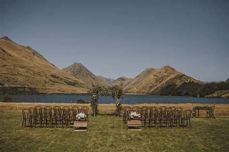 Wedding Ceremony Nz by Organic New Zealand Mountain Wedding Sam Green
