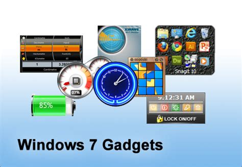 best gadgets for windows 7 5 must use gadgets for windows 7