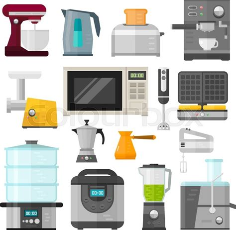 Home Appliances Design Cooking Applications And Home Appliances Equipment Kitchen Home Kitchen Appliances Templates