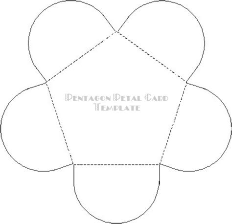 Craft Supplies Paper Crafts Free Templates Earth Mother Crafts Petal Envelope Template