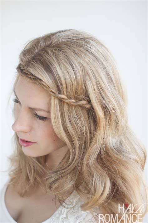 braid headband hairstyles tutorial twist pin rope braided headband hairstyle tutorial