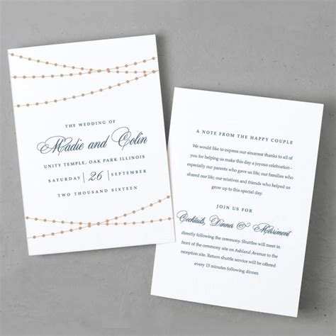 Wedding Program Sle Templates program invitation template 28 images program