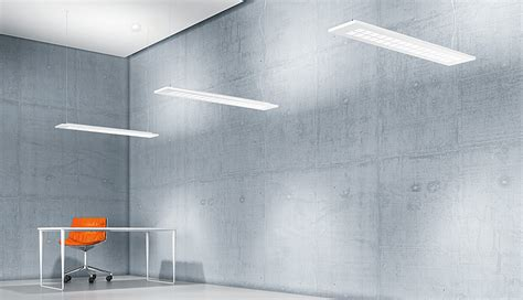 MIREL evolution recessed and surface mounted LED luminaire Zumtobel