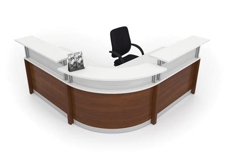 2 person reception desk curved 2 person round reception desk by artopex from boca