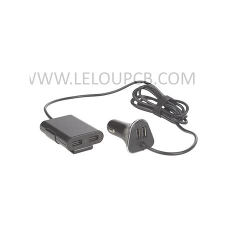 Radio Pour Voiture Avec Port Usb chargeur de voiture avec 2 ports usb 2 ports usb pour