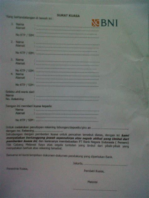 format buku tabungan bank pencairan klaim tabungan deposito oleh ahli waris di kcu