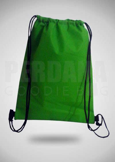 Goodie Bag Ransel Sablon 11 Tas Spunbond Serut Ransel Untuk Klien Jakarta Perdana
