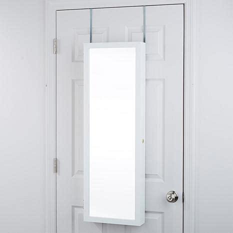 jewelry armoire over the door over the door 42 quot jewelry armoire 8420680 hsn