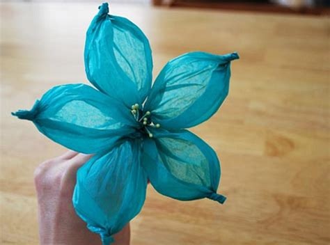 Handmade Tissue Flowers - the canopy artsy weddings weddings