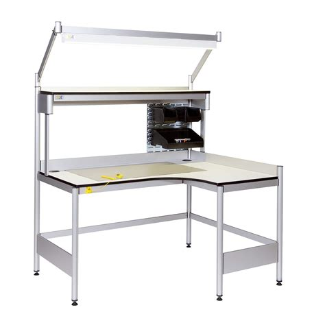 esd work benches aps esd workbenches static safe environments