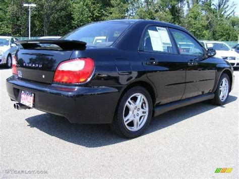 subaru midnight 2002 midnight black pearl subaru impreza wrx sedan