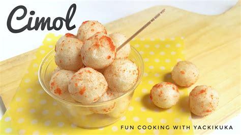 resep cimol indonesian street food youtube