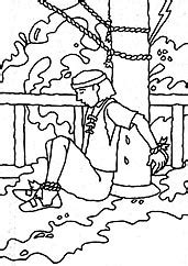 lds coloring pages nephi builds a ship brother of jared from the friend magazine coloring page