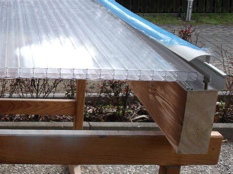 terrassendach ohne wandbefestigung terrassen 252 berdachung selber bauen schritt f 252 r schritt
