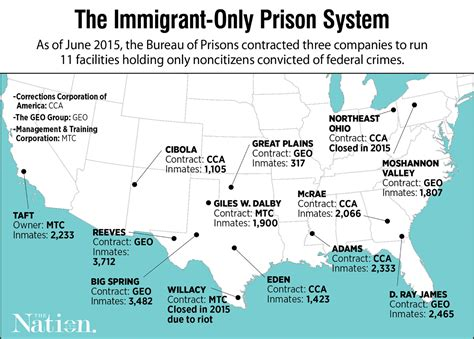 federal prisons in texas map family sues prison operator deaths at immigrant only facilities the nation
