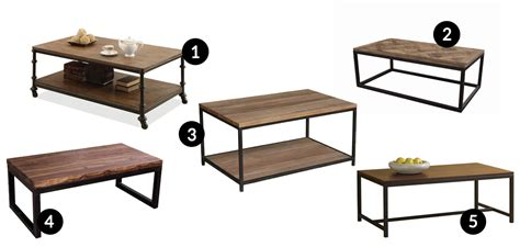 Coffee Tables Industrial Coffee Table Shopping With Wayfair In The City